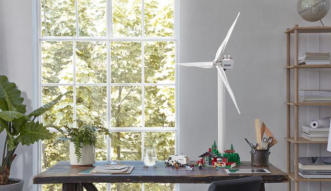 乐高推出风力发电玩具套组 以推广环保材料