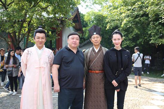 《河东狮吼》横店开机 胡然诠释全新刁蛮柳玉娥