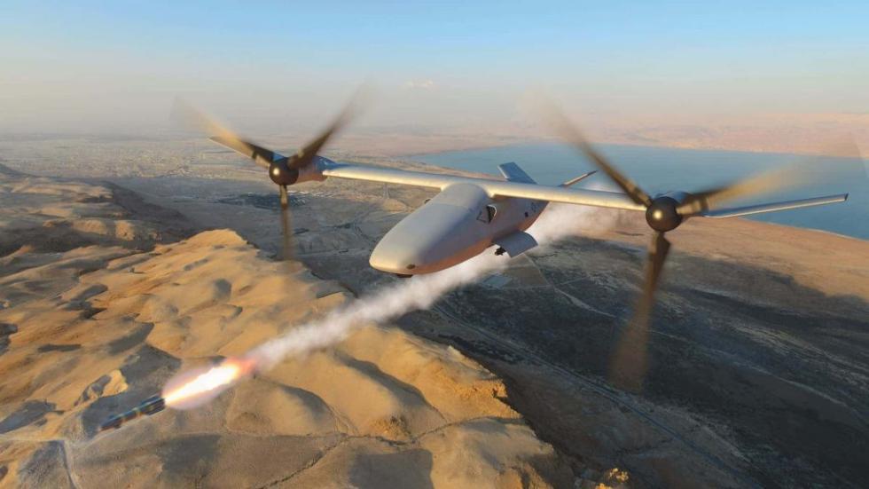 美最新倾转旋翼无人机亮相 可执行精确打击任务