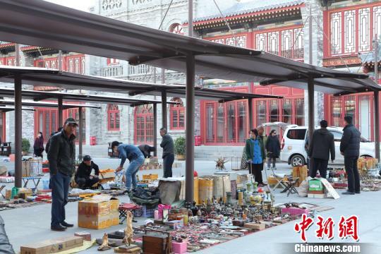 大同潘家园开门迎客 建设具有大同特色的文化市场