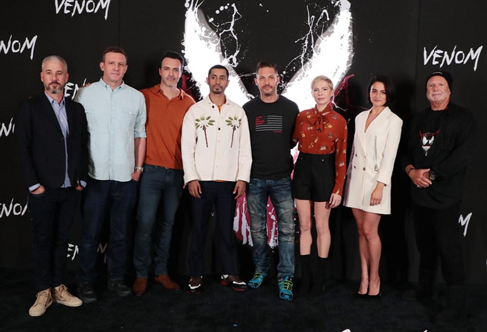 《毒液:致命守护者》全球宣传 主创为电影造势