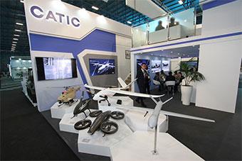 南非航空航天防务展中国产品参展大放异彩
