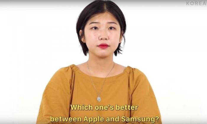 苹果和三星哪个更好?韩国人回