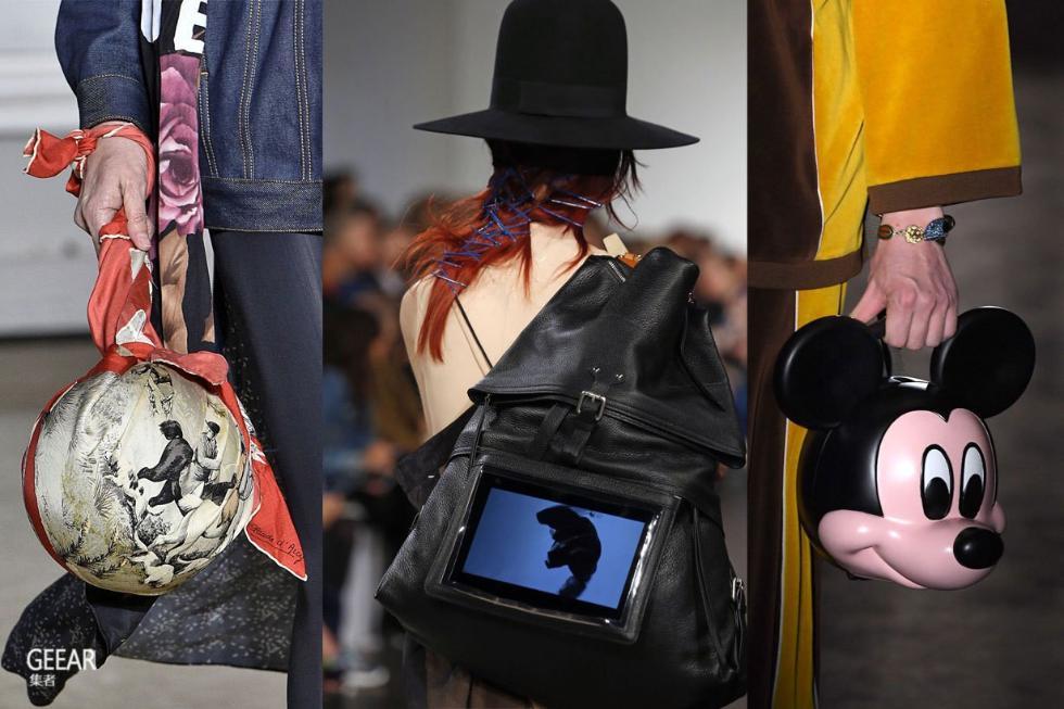巴黎时装周上的大牌新手袋!你是外貌协会还是实用派?