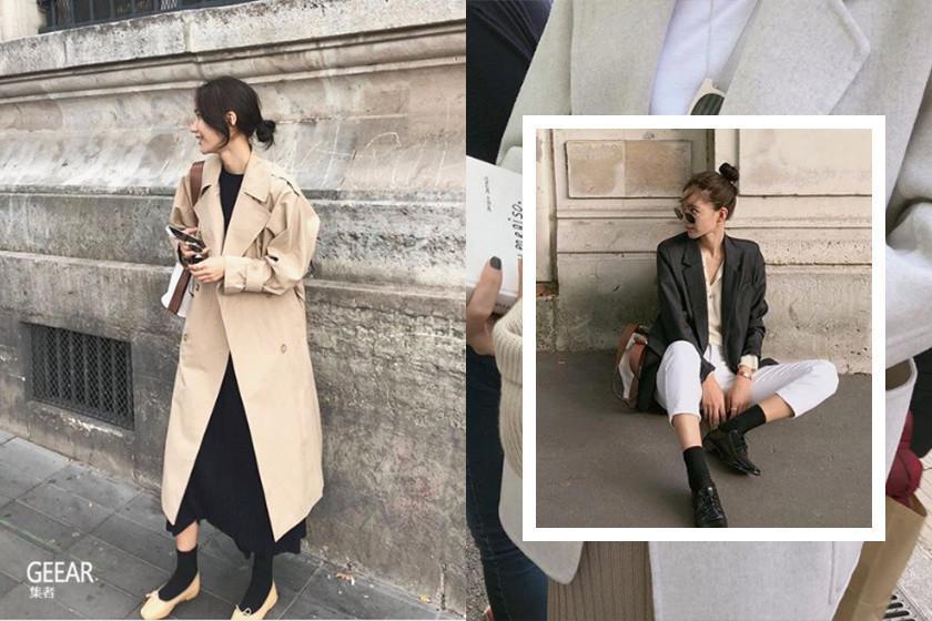 时尚也可以很低调,让这位韩国女生教你用基本单品穿出知性气质!