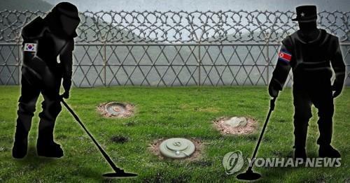 朝韩今启动非军事区扫雷行动 落实《板门店宣言》
