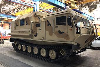 俄罗斯军用装甲车厂展示民用全地形车