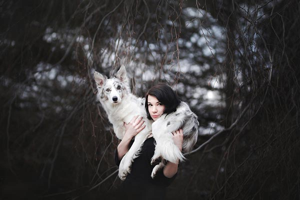 狗生巅峰! 波兰宠物狗随女主人周游世界留下唯美旅行影集