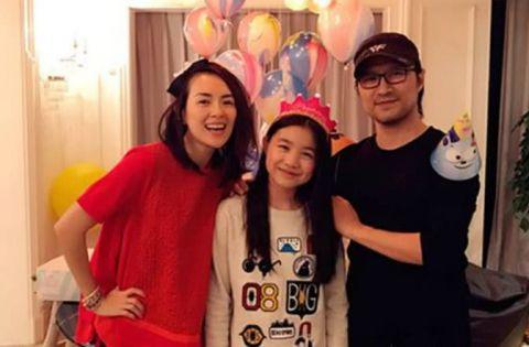 汪峰的大女儿年仅13岁,遗传了谁的基因?竟比章子怡还美上几分