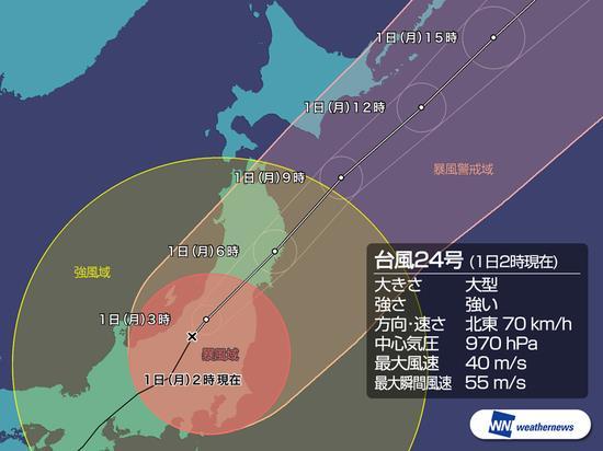 谭美台风横扫日本:40吨最大金身观音菩萨被吹倒