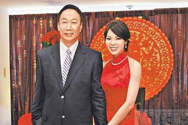 郭台铭的老婆,李嘉诚的老婆,许晋亨的老婆,刘銮雄老婆,这差距