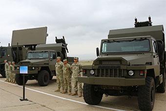 格鲁吉亚航空节展示最新购自法国短程防空武器