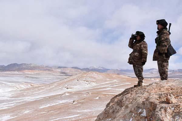 """海拔5418米,""""最高战场""""上的坚守"""