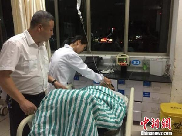 """旅客消化道破裂大出血,浙江缙云高铁站上演""""生死时速""""救援"""