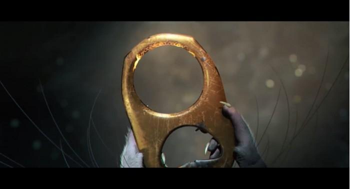 动画师打造老鼠版《魔戒》 至尊魔戒变金色易拉罐拉环