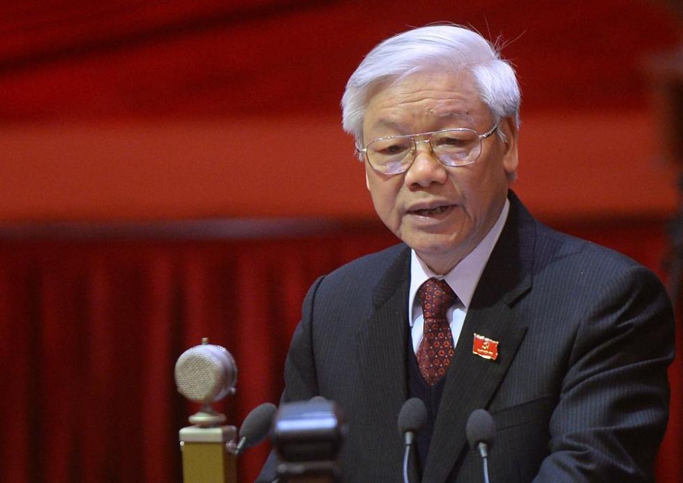 越共中央提名总书记阮富仲出任国家主席