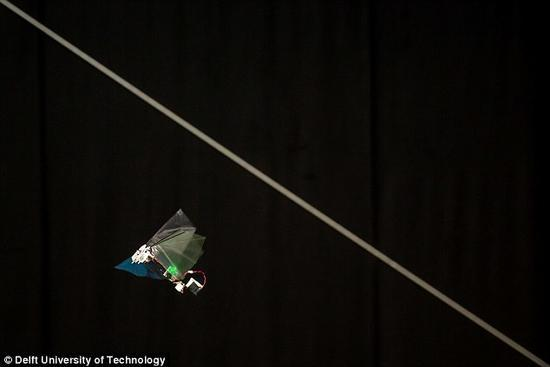 新型仿生机器人可悬停可翻转 灵活度堪比昆虫