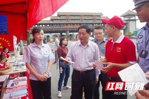 """张家界:刘绍建调研""""十一""""旅游市场秩序"""