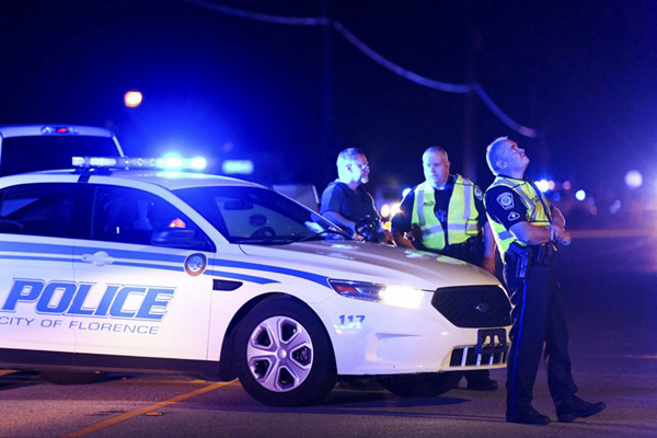 美国南卡罗来纳州发生枪击 致警察1死4人受伤