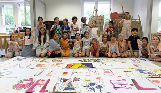 2018德中青少年绘画及艺术节 -- 在路上,用艺术架起德中友谊的桥梁