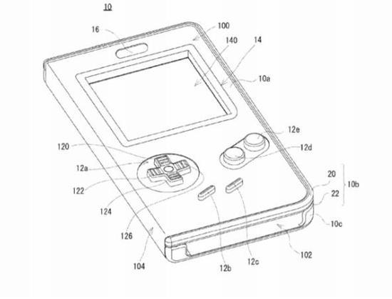 任天堂新专利曝光:官方正版手机壳 秒变GameBoy