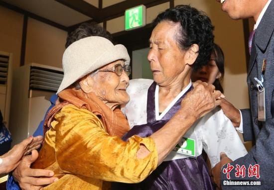 调查:逾九成韩国离散家属愿确认在朝亲人生死