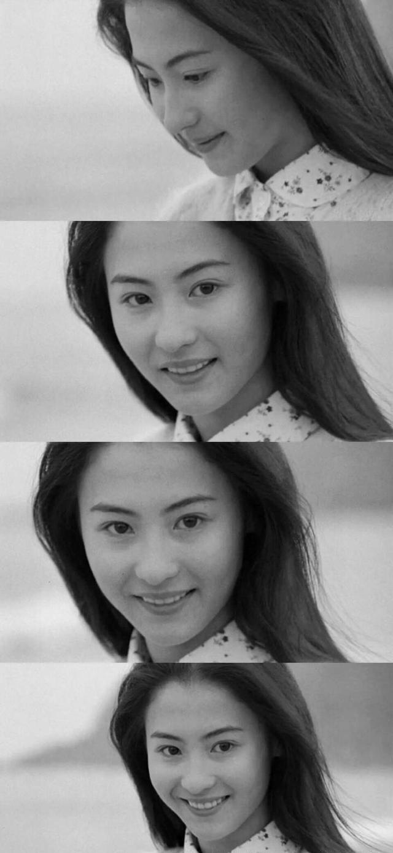 被称为香港最后一位美人张柏芝,她为香港美颜落幕画上圆满句号