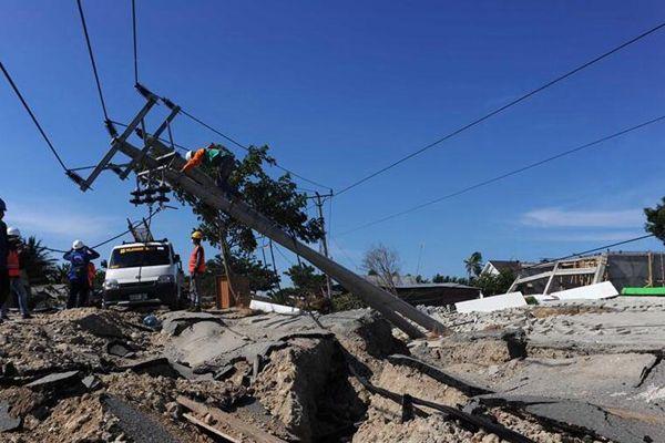 印尼强震和海啸致死人数已上升至1571人