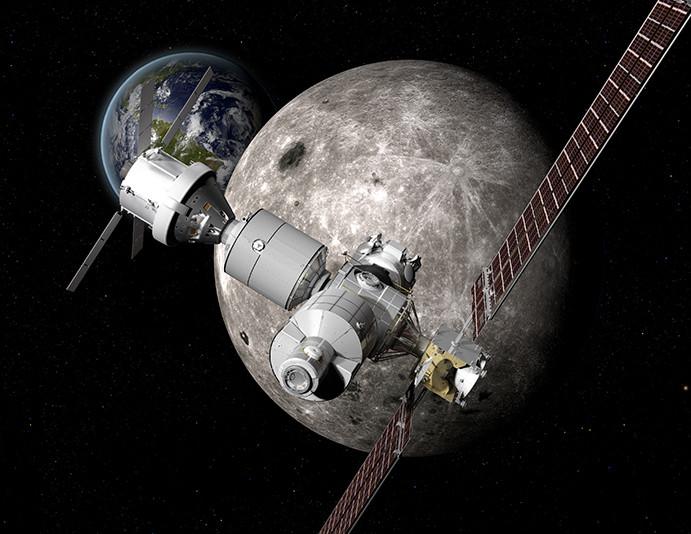人类不是重返月球 而是向月球前进