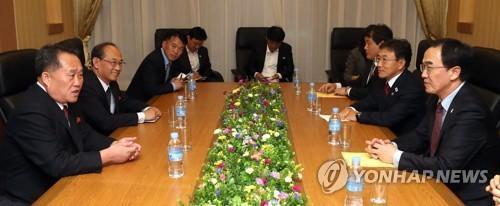 韩朝高级别磋商在平壤举行 讨论平壤宣言落实方案
