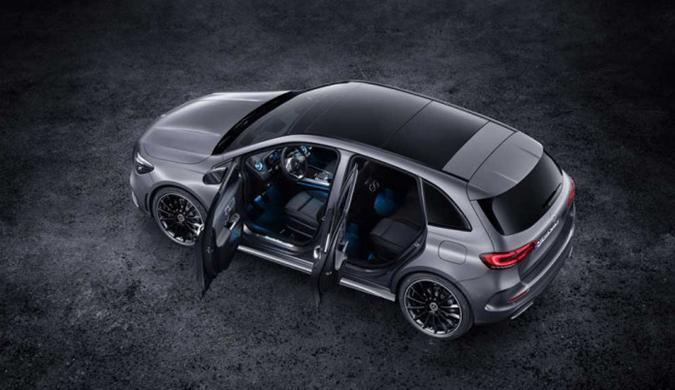 新一代奔驰B级亮相 内饰升级 动力换装1.3T引擎
