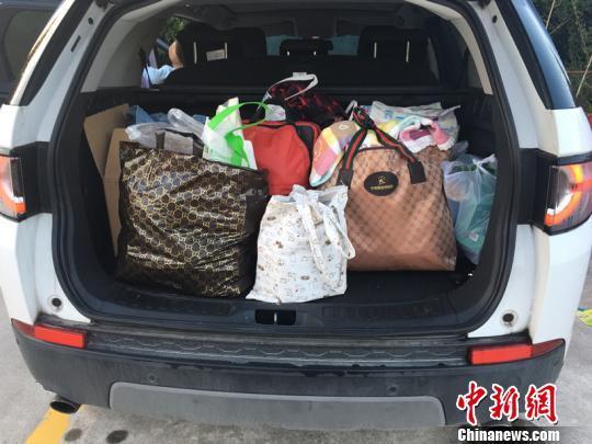 国庆返程的后备箱:载得走土特产 载不尽家人的爱