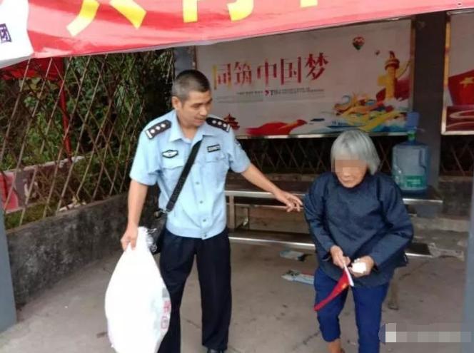88岁老婆婆不慎迷路 民警灵机一动20分钟找回亲属