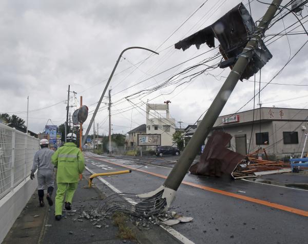 """台风""""康妮""""过境致日本1人死亡,韩国取消377次航班"""