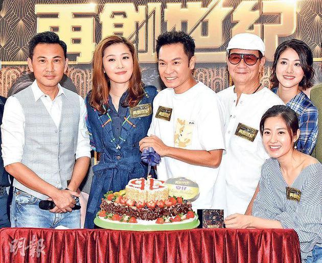 郭晋安预祝54岁生日 老婆炮制无糖怪味蛋糕