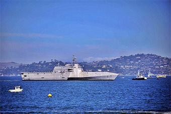 洛杉矶舰队周今天落幕 美海军借机展示实力