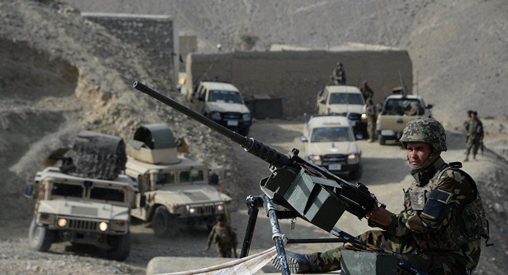 阿富汗全国反恐 一天内近60名武装分子被消灭