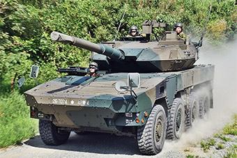 日本陆自开放日展示16型战车