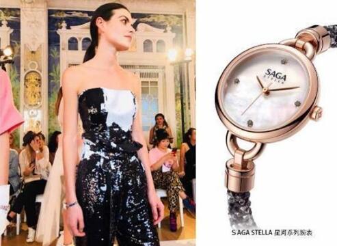 巴黎时装周腕表成必备单品