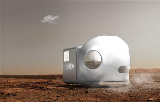 小米与Open Architecture合作 畅想未来火星栖息地