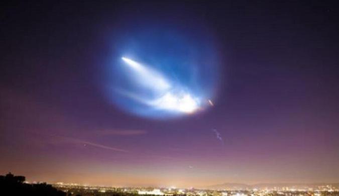 SpaceX第二次发射新猎鹰9号火箭