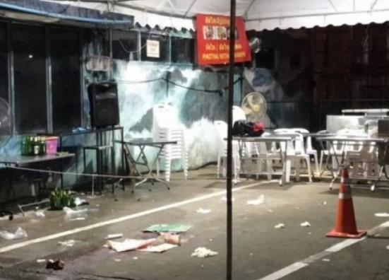 泰国曼谷一购物中心附近发生帮派火拼 2游客死亡