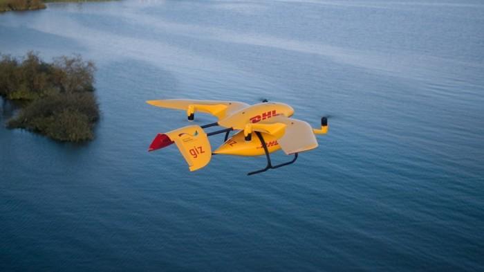 DHL的Parcelcopter无人机在坦桑尼亚完成运输测试