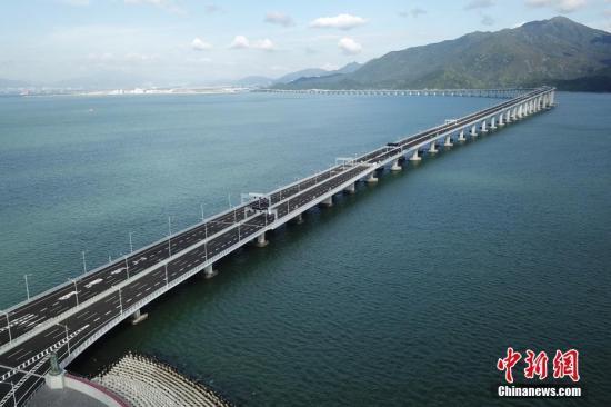港珠澳大桥联合试运达预期效果