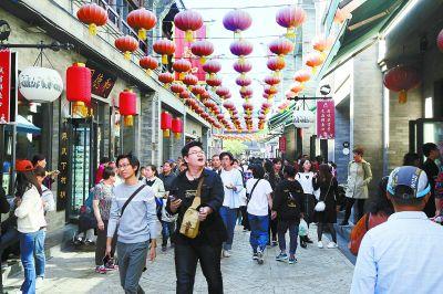 黄金周北京重点景区接待游客1285万人次