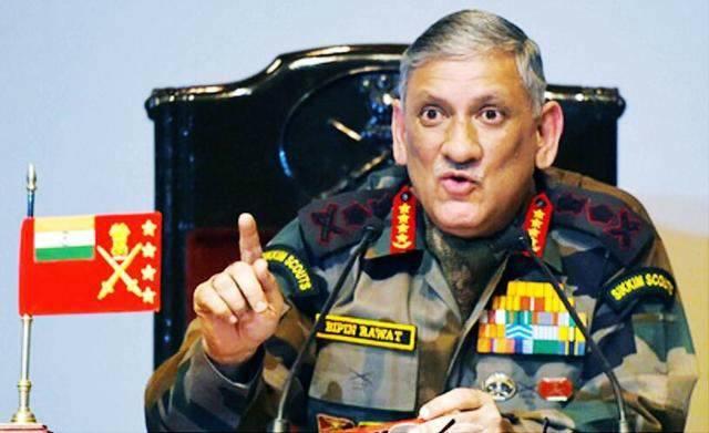 """印陆军参谋长回应美制裁威胁:印度实行""""独立的政策"""""""