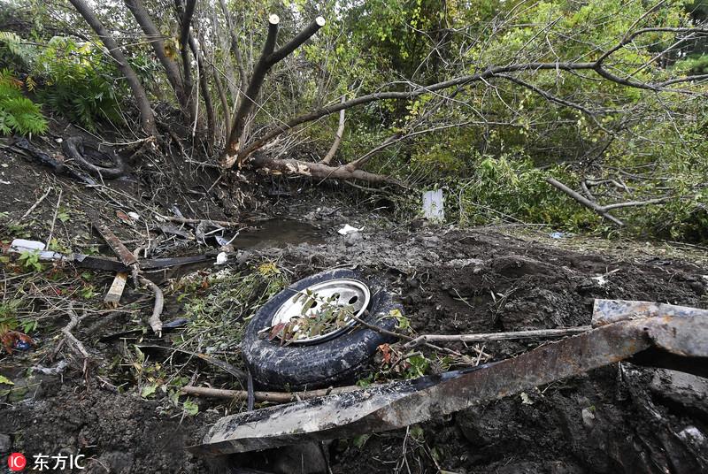 农户开车载活羊卖奶 美国纽约州车祸致20人死亡 涉事车辆上月未通过安全检测