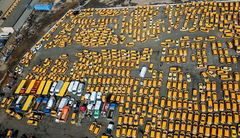 俄媒:莫斯科每天约76万人使用出租车