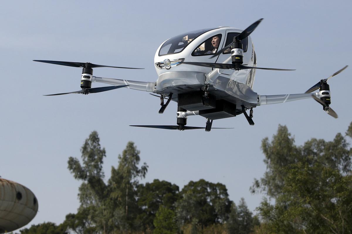 中国热衷飞行汽车研发 新科技将重塑城市交通
