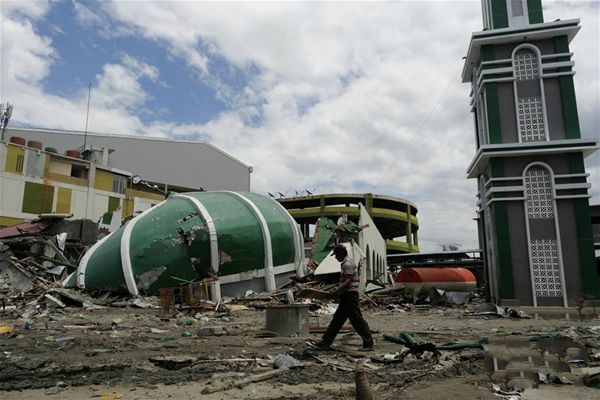 印尼强震及海啸死亡人数升至1948人
